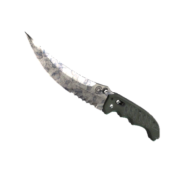 Flip Knife | Stained