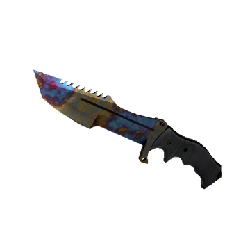 Huntsman Knife | Case Hardened